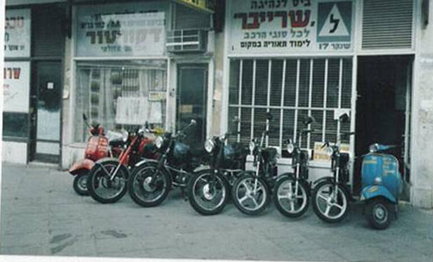 שרייבר לימוד נהיגה קטנוע