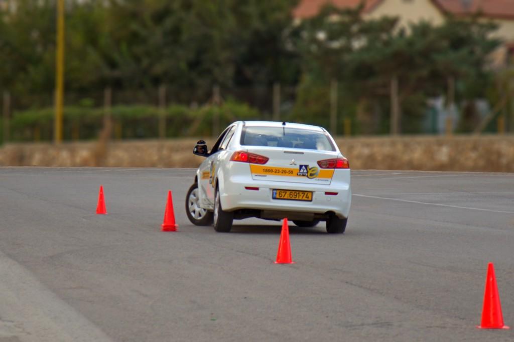 נהיגה מתקדמת - שרייבר לימוד נהיגה